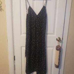 Flynn Skye black arrow maxi dress